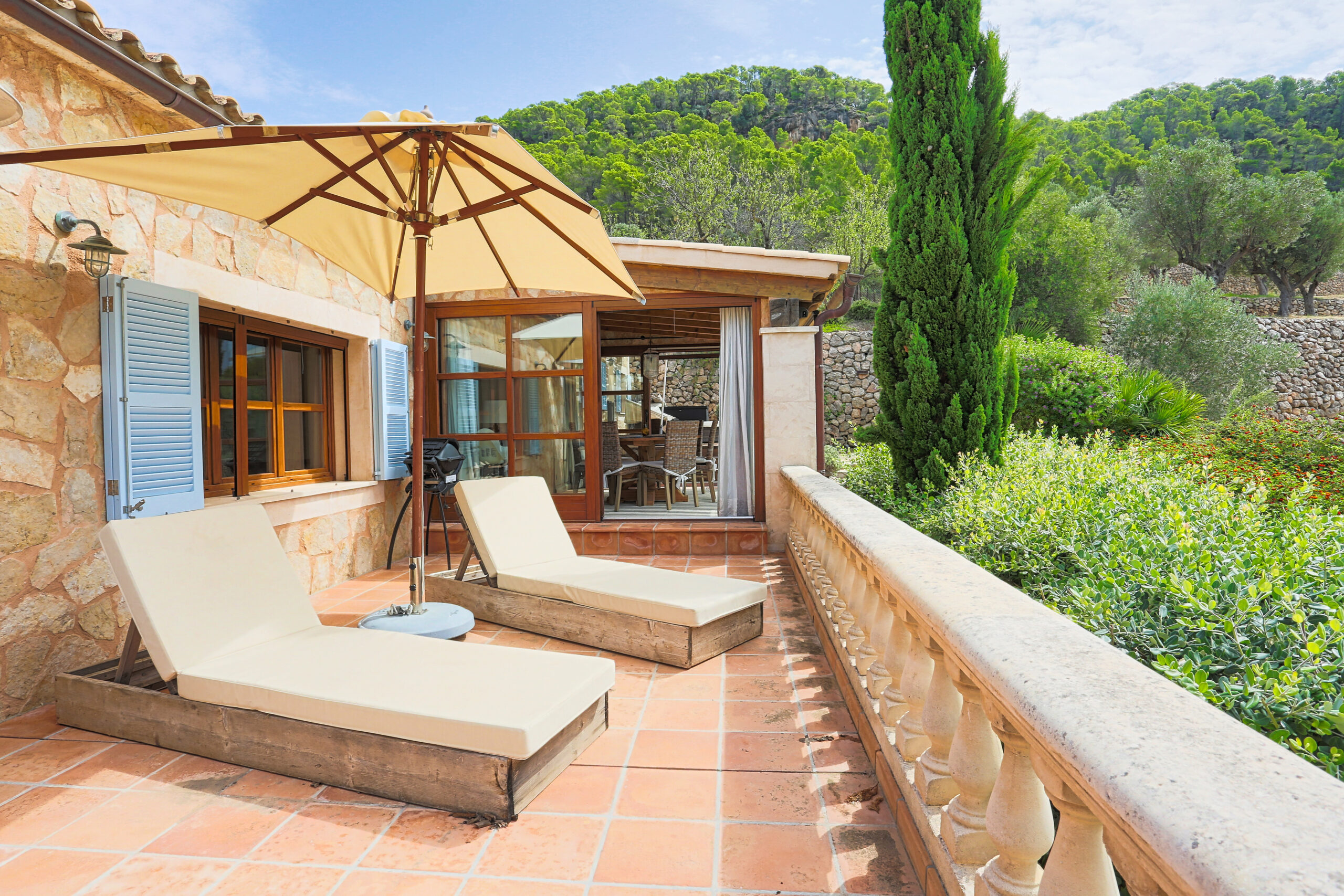 RENOVATED FINCA WITH PORT VIEWS  IN PORT ANDRATX